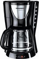 Grundig KM 5260 premium koffiezetapparaat (950 watt), zwart-zilver
