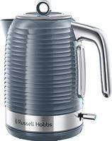 Russell Hobbs Inspire Grey Waterkoker Grijs 1.7L, 24363-70, 3000 Watt