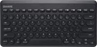 Qware Home Office draadloos toetsenbord (Neerwich) Zwart