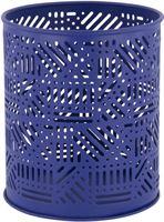 HEMA Sfeerlichthouder Ø10.5x12.5 - Metaal Blauw (blauw)