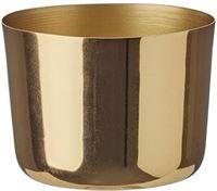 HEMA Sfeerlichthouder - 7 X 9 Cm - Goud (goud)