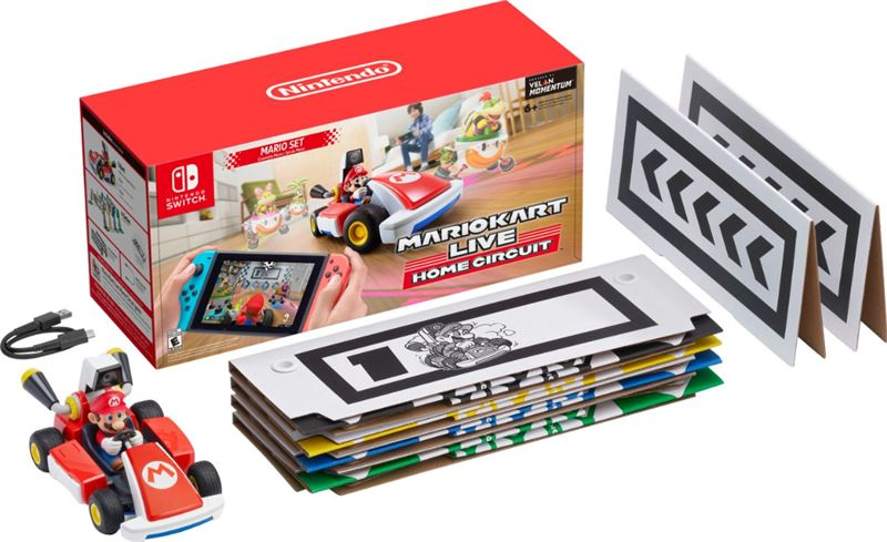 Nintendo Mario Kart Live: Home Circuit - Mario Edition - Switch Nintendo Switch