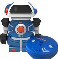 Gear2play Robot MiniBot in Blik blauw