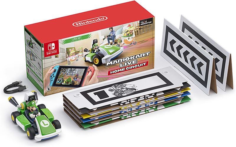 Nintendo Mario Kart Live: Home Circuit - Luigi Edition - Switch Nintendo Switch