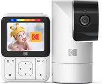 Kodak Cherish C225 WiFi Babyfoon met camera en 2,8 HD-Monitor