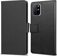 qMust OnePlus 8T Wallet Hoesje Zwart zwart