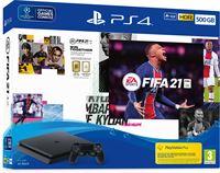 Sony PlayStation 4 Slim + FIFA 21+ PS plus 14 dagen subscription