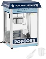 Royal Catering Popcornmachine - blauw