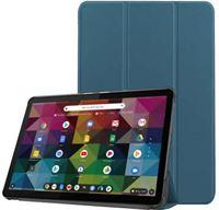 qMust Lenovo IdeaPad Duet Chromebook Smart Tri-Fold Case - Petrol Petrol