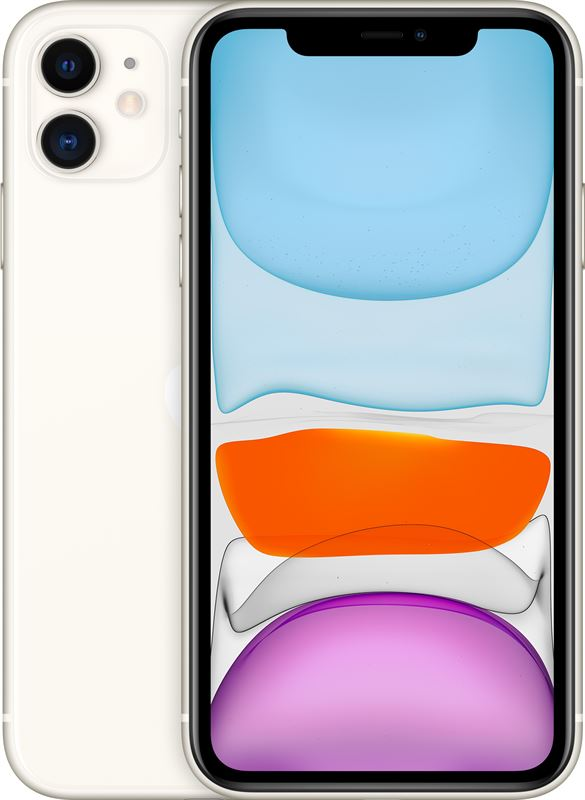 Apple iPhone 11 64 GB / white / (dualsim)