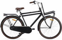 Popal Daily Dutch Basic Herenfiets - Transportfiets - 50 cm - Zwart