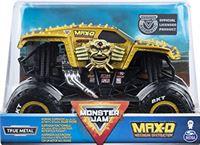 Monster Jam 6054812 Original Truck op Schaal 1:24 Max-Dy, Goudlkleurig