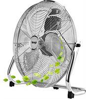 Venga! VG VT 3002 Staande ventilator met 3 bladen en 3 snelheden, 50 cm, 100 W - Zilver
