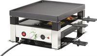 Solis Table Grill 5-in-1 gourmetstel 4 persoons rvs zwart