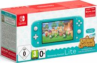 Nintendo Switch Lite + Animal Crossing - Turquoise
