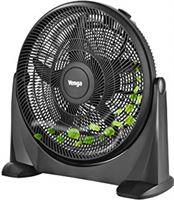 Venga! VG VT 3041 Staande ventilator met 5 bladen en 3 snelheden, 50 cm, 90 W - Zwart