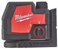 Milwaukee L4 CLL-301C oplaadbare groene kruislijnlaser