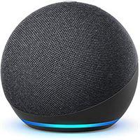 AMAZON De nieuwe Echo Dot (4e generatie) Internationale versie   Smart luidspreker met Alexa   Antraciet   Nederlandse taal niet beschikbaar