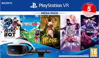 Sony Playstation VR Megapack III + 5 Games