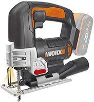 Worx WX 543.9 pendelhekzaag Zonder batterij of lader Blanco Y Gris