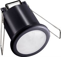 BES LED Bewegingssensor - Viron Asimo - Opbouw Rond - Mat Zwart - Kunststof - 360°