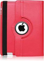 Stuff Certified Leren Vouwbare Cover voor iPad Air 4 - Multifunctioneel Hoesje Case Rood