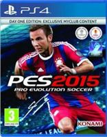 Konami Pro Evolution Soccer PES 2015 Day One Edition, PS4 video-game PlayStation 4 Basic + DLC