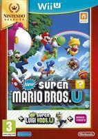 Nintendo New Super Mario Bros. U + New Super Luigi U Selects) (verpakking Frans, game Engels)
