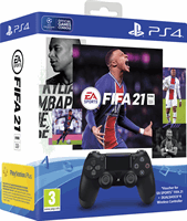 Sony DualShock 4 V2 + FIFA 21 + PS plus