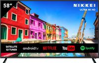 Nikkei NU5818SMART 58 inch (147 cm) Ultra HD / 4K - LED - Wi-Fi