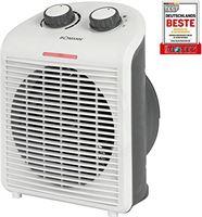 Bomann HL 6040 CB, mobiele en compacte ventilatorkachel, 2 warmtestanden (1000/2000 W), koude stand (ventilator), wit