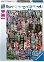 Ravensburger Ravensburger puzzel Gdansk, Polen - Legpuzzel - 1000 stukjes