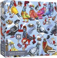 Gibsons puzzel Pigeons of London - 1000 stukjes