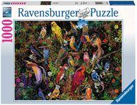 Ravensburger Schitterende Vogels Puzzel (1000 stukjes)