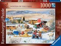 Ravensburger puzzel Boerderij in de winter