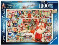 Ravensburger Christmas Is Coming! Puzzel (1000 stukjes)