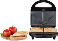 Medion 3-in-1 Tosti ijzer MD 19788 | Sandwich, wafel of panini | Verwijderbare platen met antiaanbaklaag | Max. 750 watt