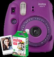Fujifilm Instax Mini 9 Paars + 10 foto's