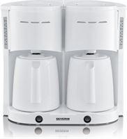 Severin KA 5830 - Duo Koffiezetapparaat - Wit