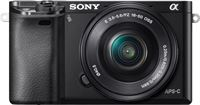Sony Alpha A6000 Zwart + 16-50mm OSS