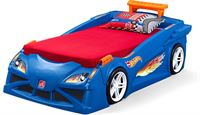 Step2 Hot Wheels Toddler-To-Twin Race Car