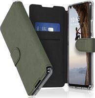 Accezz Xtreme Wallet Booktype Samsung Galaxy A42 hoesje - Lichtgroen