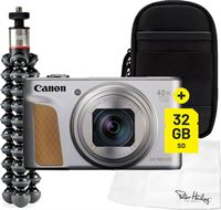 Canon Powershot SX740 HS Starter Vlogkit zilver