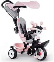 smoby Baby Driver Plus Roze Driewieler