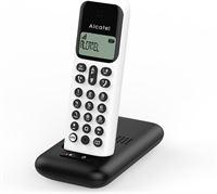 Alcatel D285S single draadloze huistelefoon voor de vaste lijn - wit