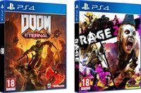 Bethesda Doom Eternal + Rage 2 Double Pack - PS4