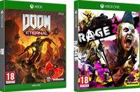 Bethesda Doom Eternal + Rage 2 Double Pack - Xbox One