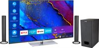 Medion BundelDEAL ! LIFE® X15061 50 inch Ultra HD-TV & P61220 Bluetooth Soundbar met Subwoofer