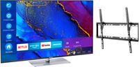 Medion BundelDEAL ! LIFE® X15061 50 inch Ultra HD-TV & GOOBAY Basic TILT (L) Muurbevestiging (tot 70 Inch)