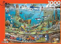Puzzelman Onder Water - Danker Jan Puzzel (1000 stukjes)